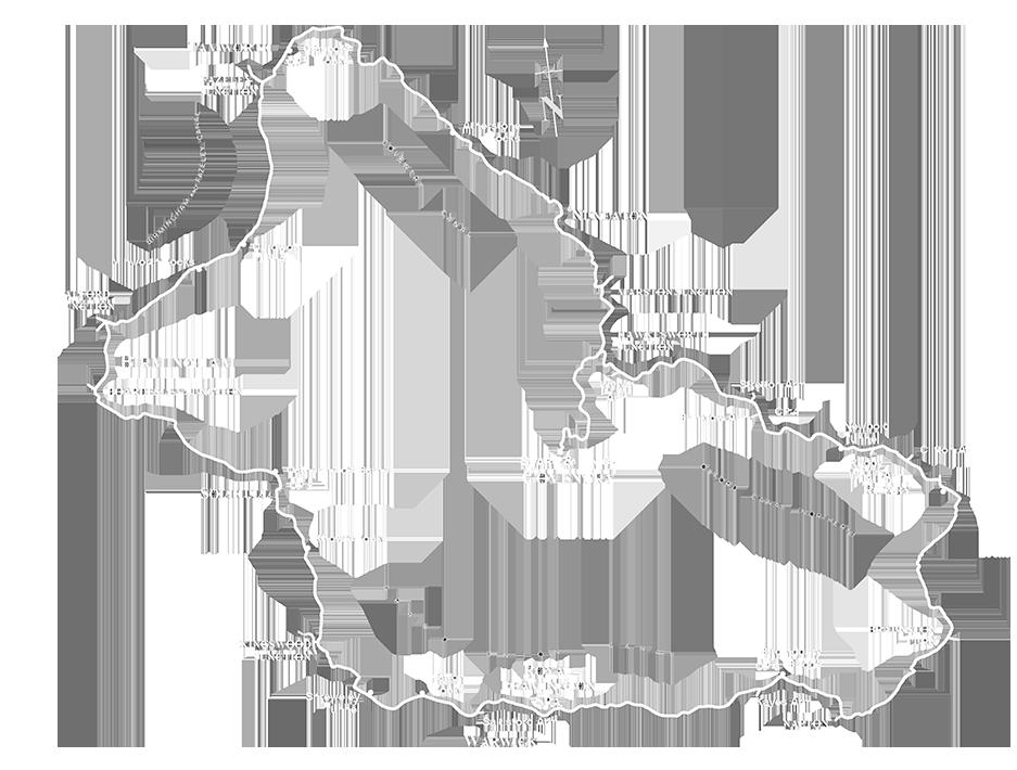 WRCR line route map